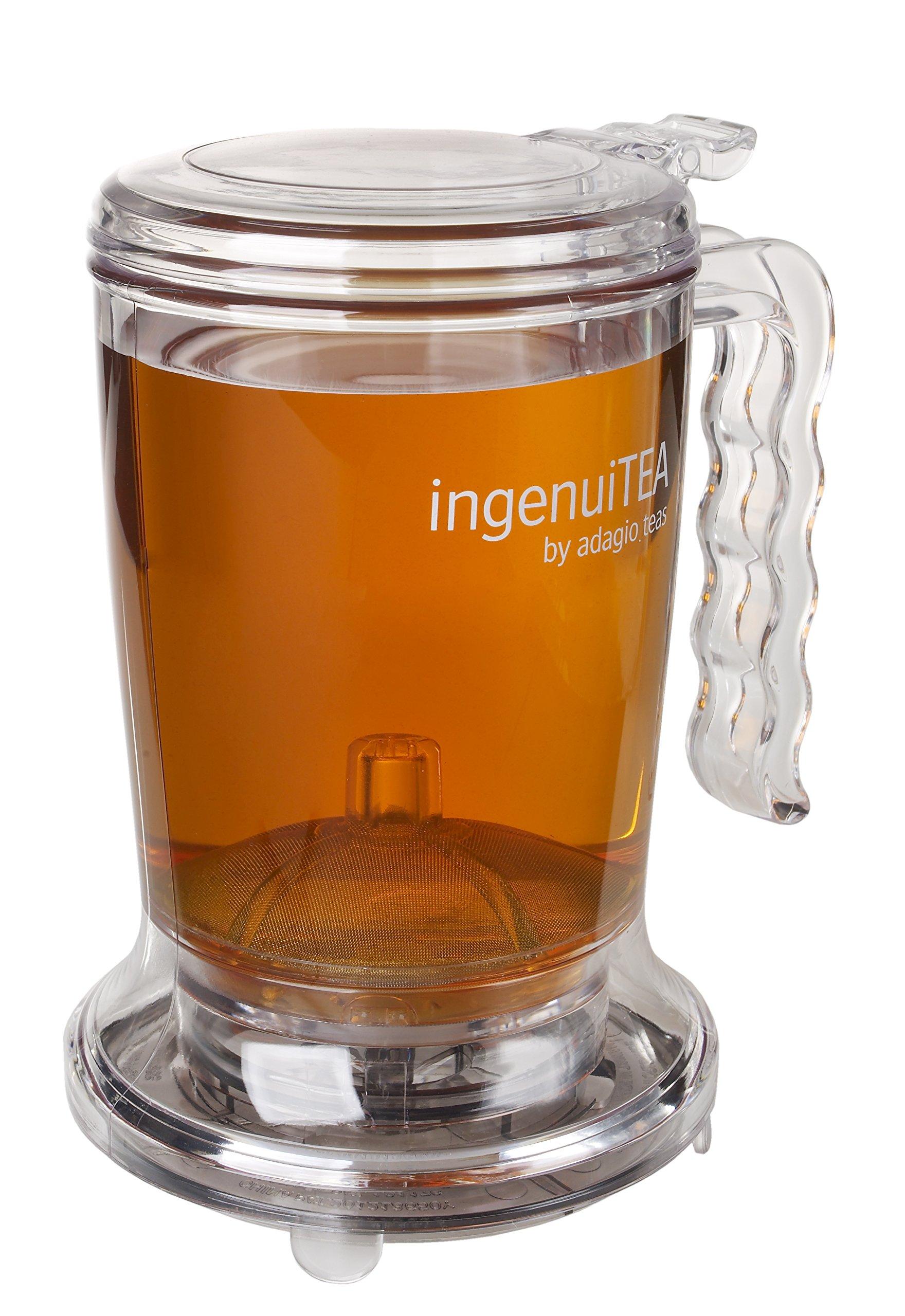 Adagio Teas 16 oz. ingenuiTEA Bottom-Dispensing Teapot by Adagio Teas