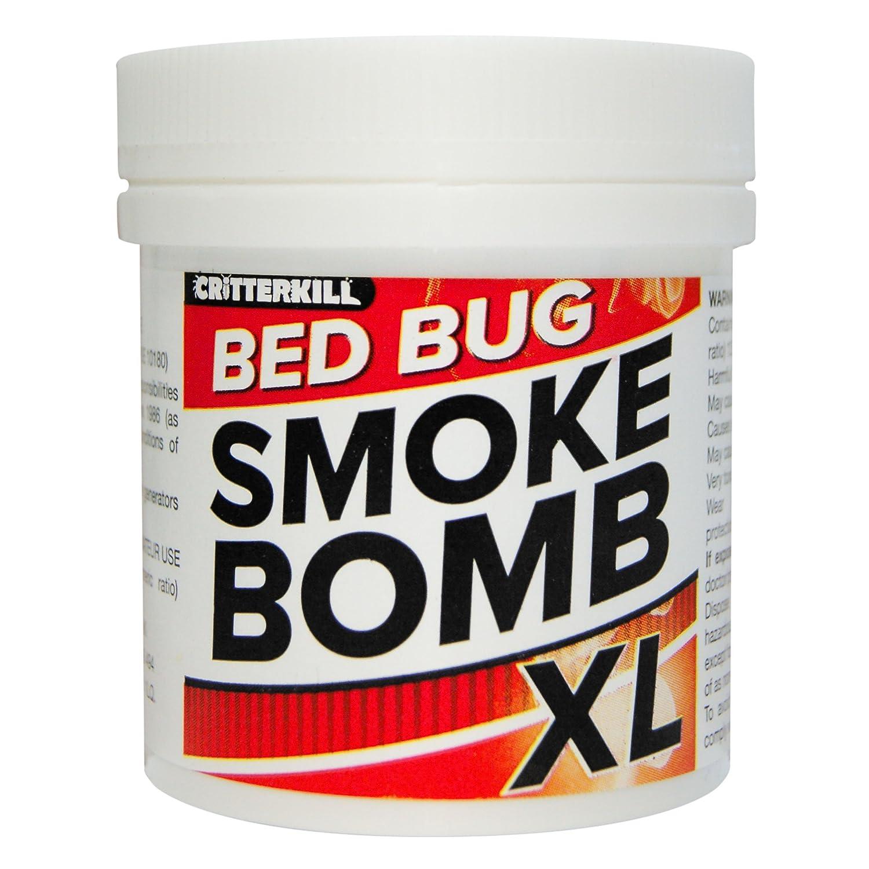 Bomba de humo XL Insecticida contra chinches, 15 g, para cama, producto de fuerza profesional : Amazon.es: Jardín