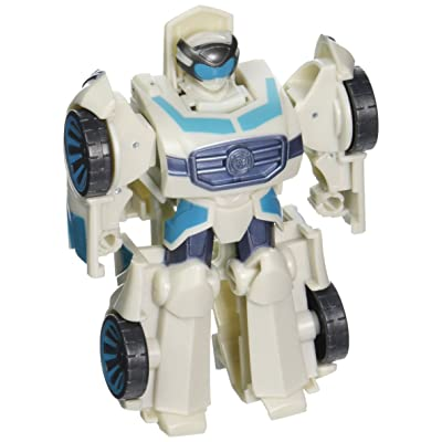 Playskool Heroes Transformers Rescue Bots Rescan Quick Shadow Action Figure: Toys & Games