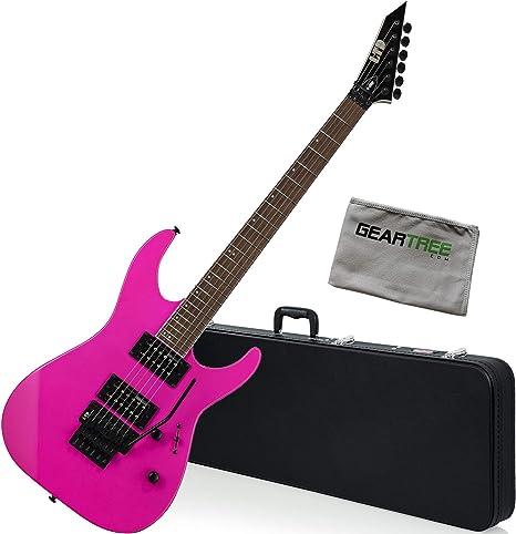 ESP LTD M-200 NPK - Guitarra eléctrica (serie M, con funda y ...