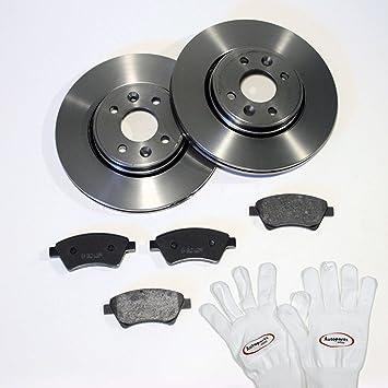 Bremsbel/äge Bremssystem Lucas Autoparts-Online Set 60008286 Bremsscheiben /Ø 258 mm//Bremsen Vorne