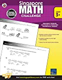 Singapore Math – Challenge Workbook for 3rd, 4th, 5th Grade Math, Paperback, Ages 8–11 with Answer Key