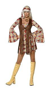 Smiffys Bambina alla moda anni '60, con abito e panciotto a frange, Modelli/Colori Assortiti, 1 Pezzo Smiffys Bambina alla moda anni '60 Smiffy's 39435L