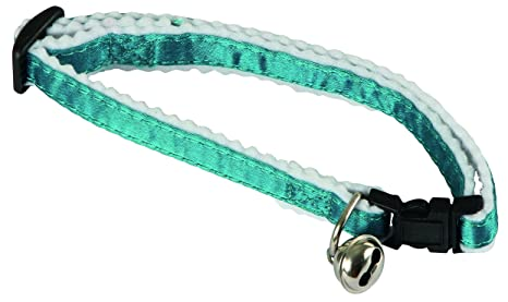 Kerbl Collar para gatos reflectante, azul
