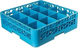 Carlisle(RG16-114) 16 Compartment Full Size OptiClean Glass Rack