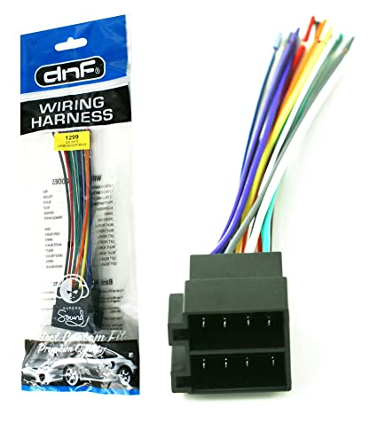 Terrific Amazon Com Dnf Amp Integration Wire Harness For Select Dodge Land Wiring Digital Resources Sapebecompassionincorg