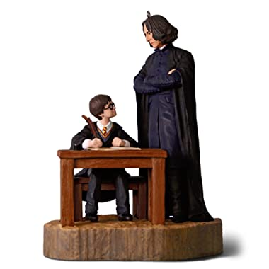 Hallmark Keepsake Christmas Ornament 2018 Year Dated, Harry Potter and The Sorcerer's Stone, Severus Snape First Impressions with Sound