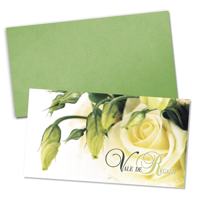 50 vales de regalo floristas, + 50 sobres para floristas, regalo floricultores y universal BL1226E 7c5701
