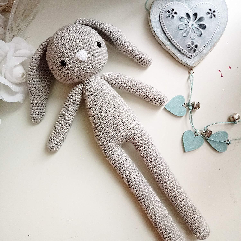 Mummy _ gehäkelte Kanninchen. Geschenk für Kinder und Babys. Sammelgeschenk. anpassbare Puppe mit Herz
