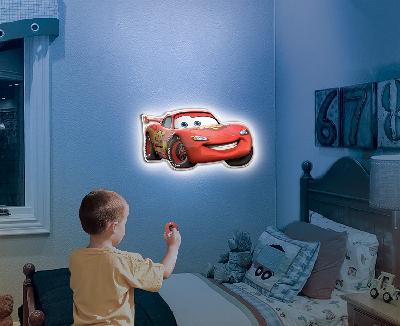 Amazon.com: Uncle Milton   Wall Friends   Lightning McQueen: Toys U0026 Games