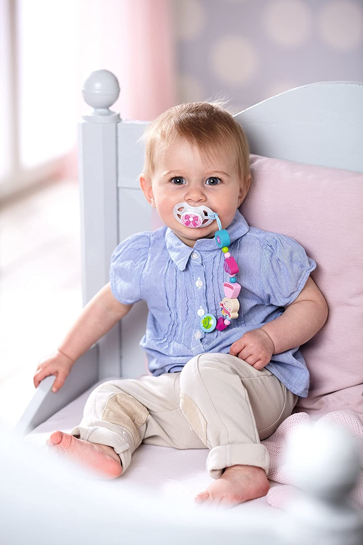 HABA 3993 - Cadena para Chupete de bebé, diseño de Princesa
