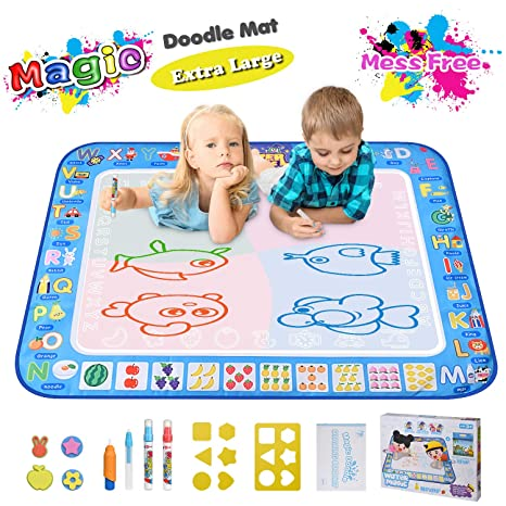 Large Magic Water Drawing Mat 385quotx295quot Learning Toys For 2 Year