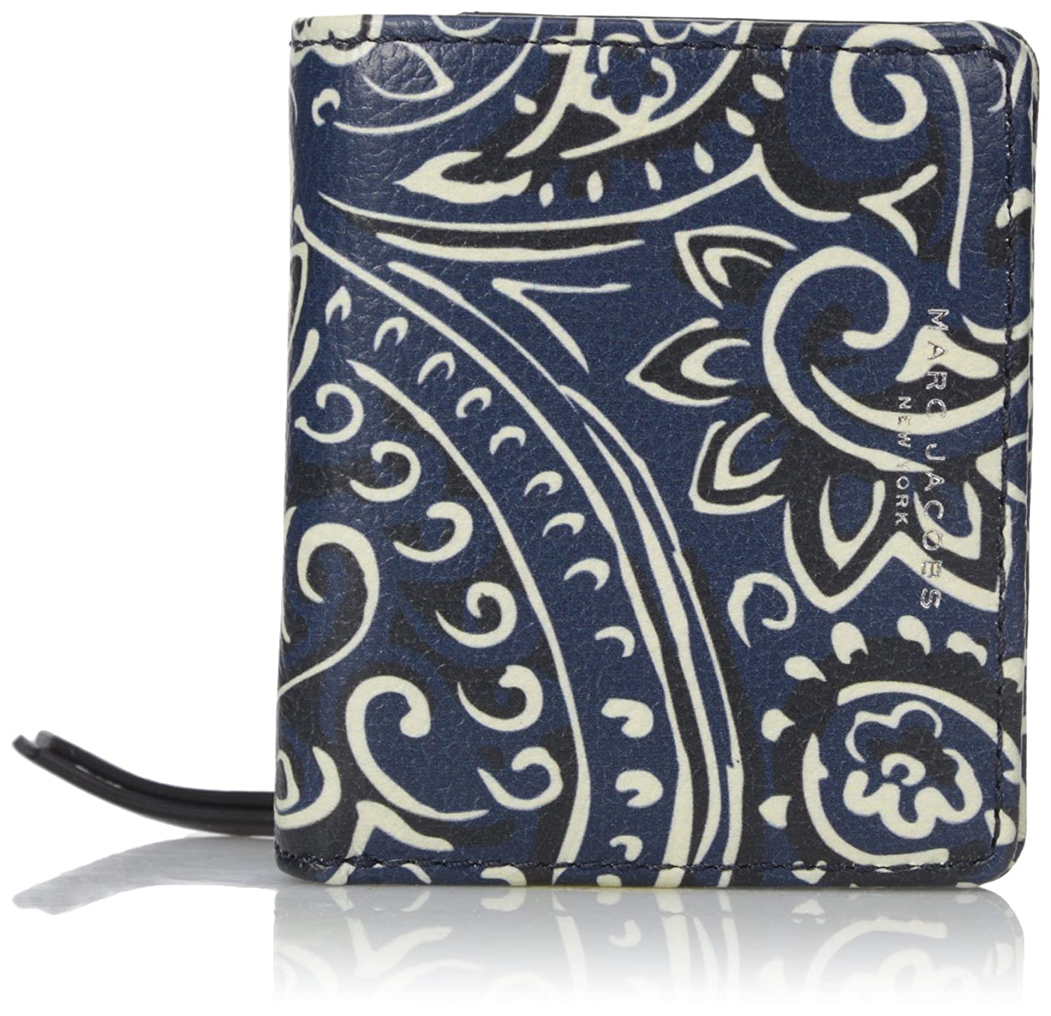 Marc Jacobs Recruit Paisley Open Face Billfold Wallet, Rail Blue Multi, One Size