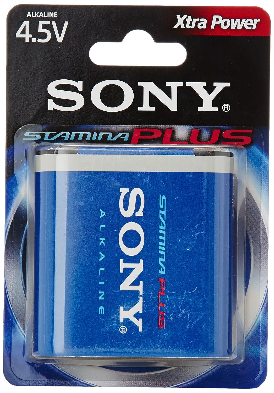 Sony 3LR12B1A - Blister 1 pila Plus alcalina 3R12 (4.5V)