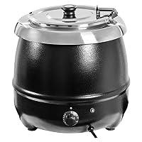 Royal Catering - RCST-9400 - Soupière électrique - Capacité 10 litres - 230 Volt - 400 Watt - Acier inoxydable - Frais d'envoi inclus