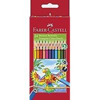 Faber-Castell Kleurpotloden, keuze uit verschillende varianten Driehoekige 24 stuks. 24er