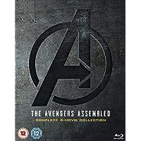 Avengers: 1-4 Complete Blu-ray Boxset Includes Bonus Disk
