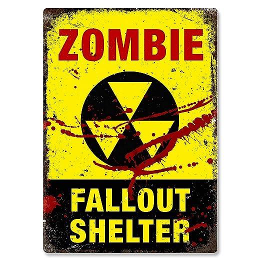 KELLEN WHITEHEAD Fallout Shelter Zombies Slogan Dead Drunk ...