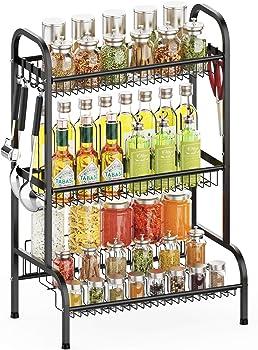 iSPECLE 3 Tier Spice Rack Organizer