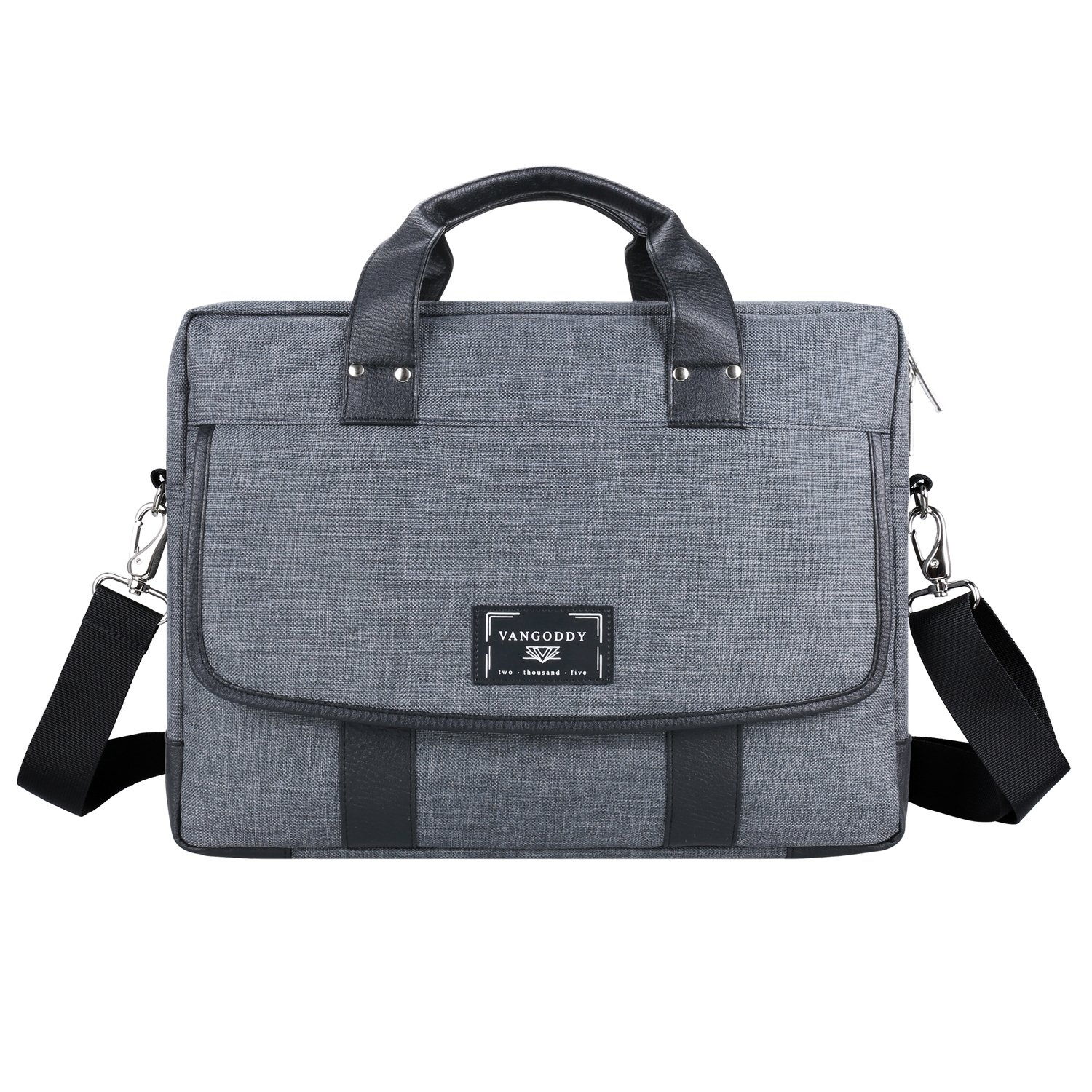 Stylish Travel Laptop Grey Messenger Briefcase Bag 15 16 Acer Laptops