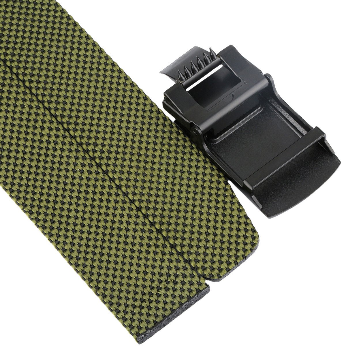 Samtree Braided Woven Belts for Men Tactical Nylon Webbing Belt with Dots