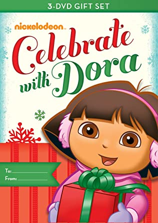 Amazoncom Dora the Explorer Dora Celebrates ThreePack Doras