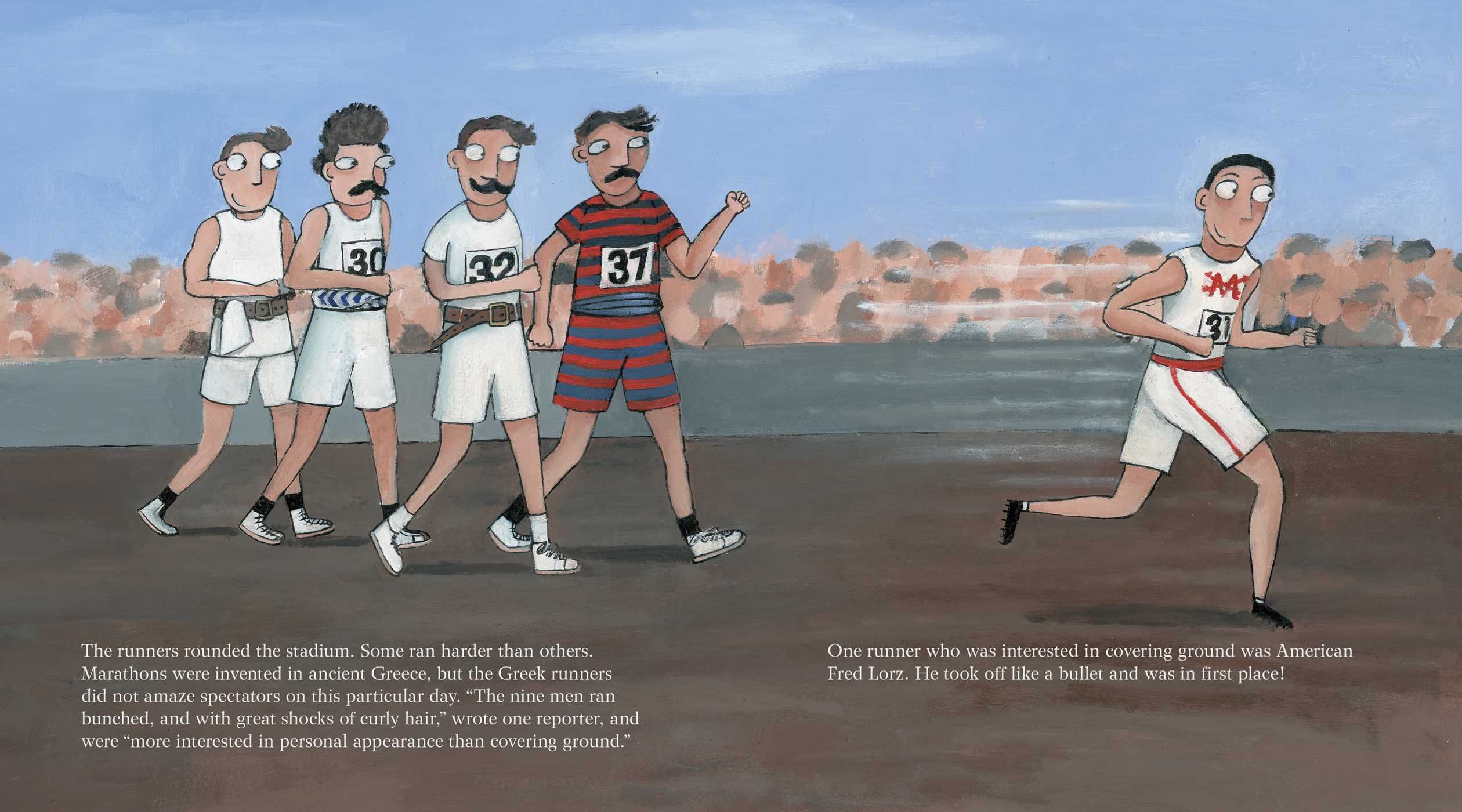 The Wildest Race Ever: The Story of the 1904 Olympic Marathon by Simon & Schuster/Paula Wiseman Books (Image #5)