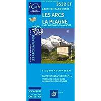 Les Arcs / La Plagne / PN de La Vanoise gps: IGN.3532ET