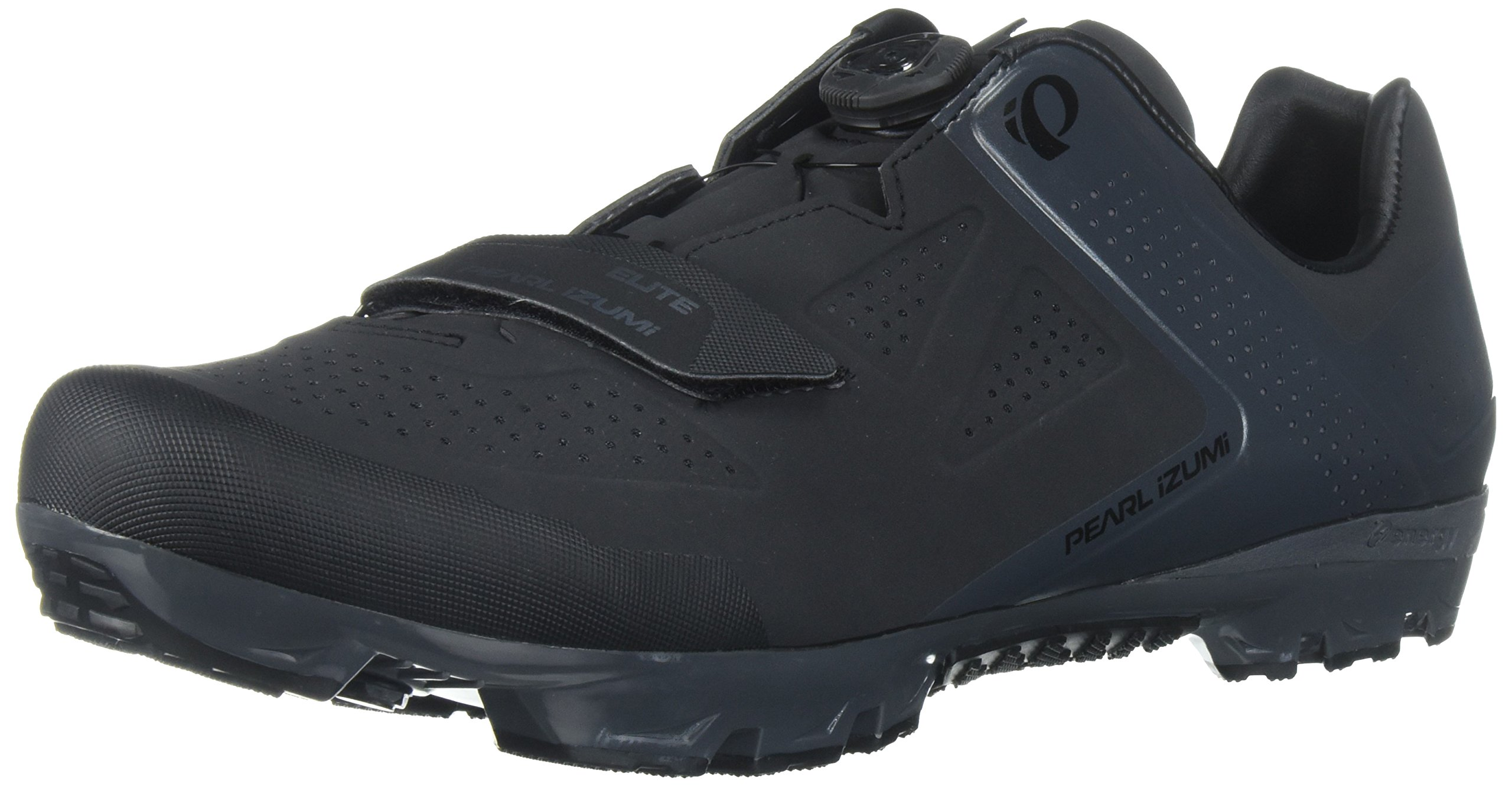 Pearl iZUMi Men's X-Project Elite Cycling-Footwear, Black/Shadow Grey, 49 EU/14 M US