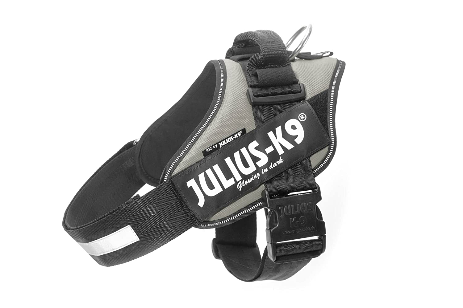 Julius-K9 16IDC-SIL-0 IDC Power Harness, Tamaño 0, Plata K9-Sport