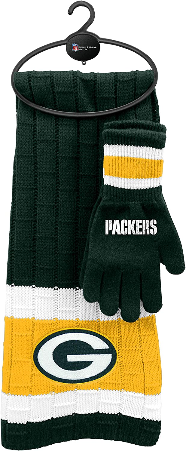 NFL Scarf Gloves Gift Set
