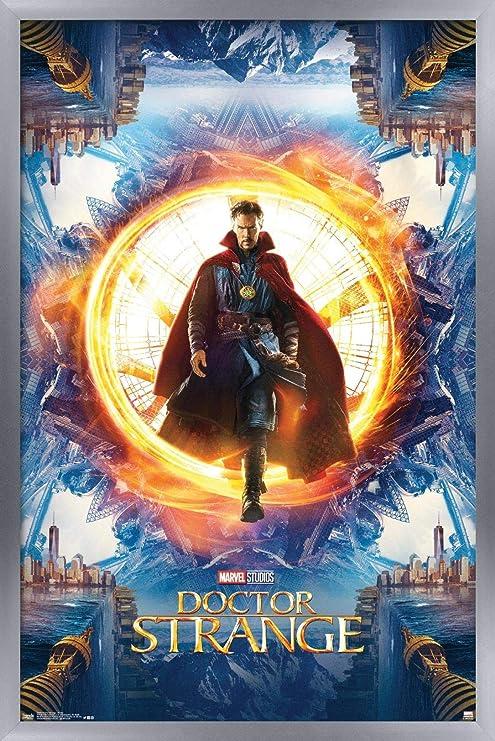Dr Strange Painting Poster Print The Avengers Endgame Doctor Strange Home Decor