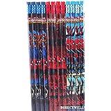 Marvel Ultimate Spiderman 12 Wood Pencils Pack