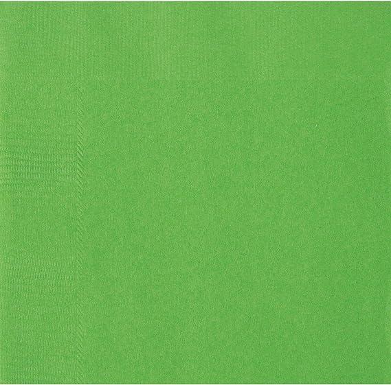 COOLMP – Lote de 12 servilletas de Papel Verde limón, 33 x 33 cm, Talla única, decoración para Fiestas, animación, cumpleaños, Bodas, Eventos, Juguetes, Globos: Amazon.es: Juguetes y juegos