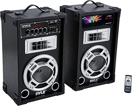 Pyle Dual 800 Watt Powered PA Bluetooth Speak