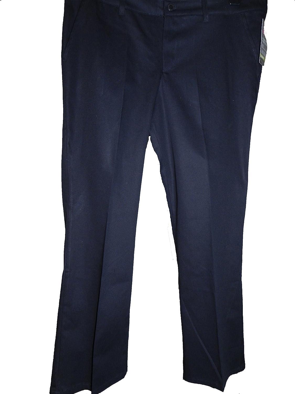 Dickies Women's Stretch Twill Slim Fit Boot Cut Pants 14p