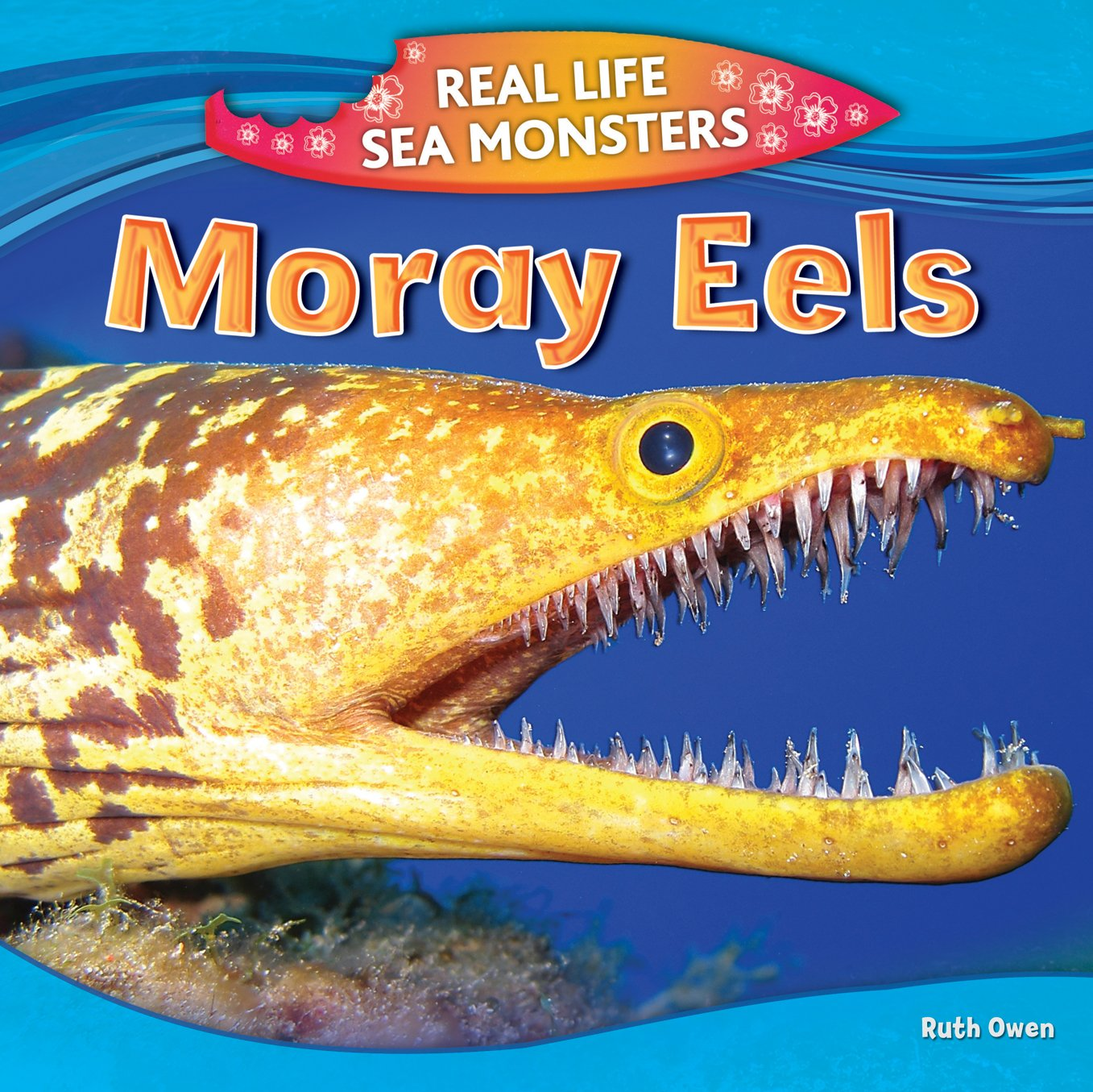 Moray Eels Real Life Sea Monsters Owen Ruth 9781477762547 Amazon Com Books