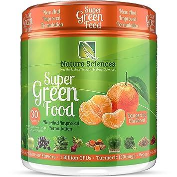 Amazon.com: Naturo Sciences - Comida natural para verdes ...
