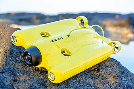 Persiguiendo Innovación Gladius 4 K Bajo Agua dron Advanced ...