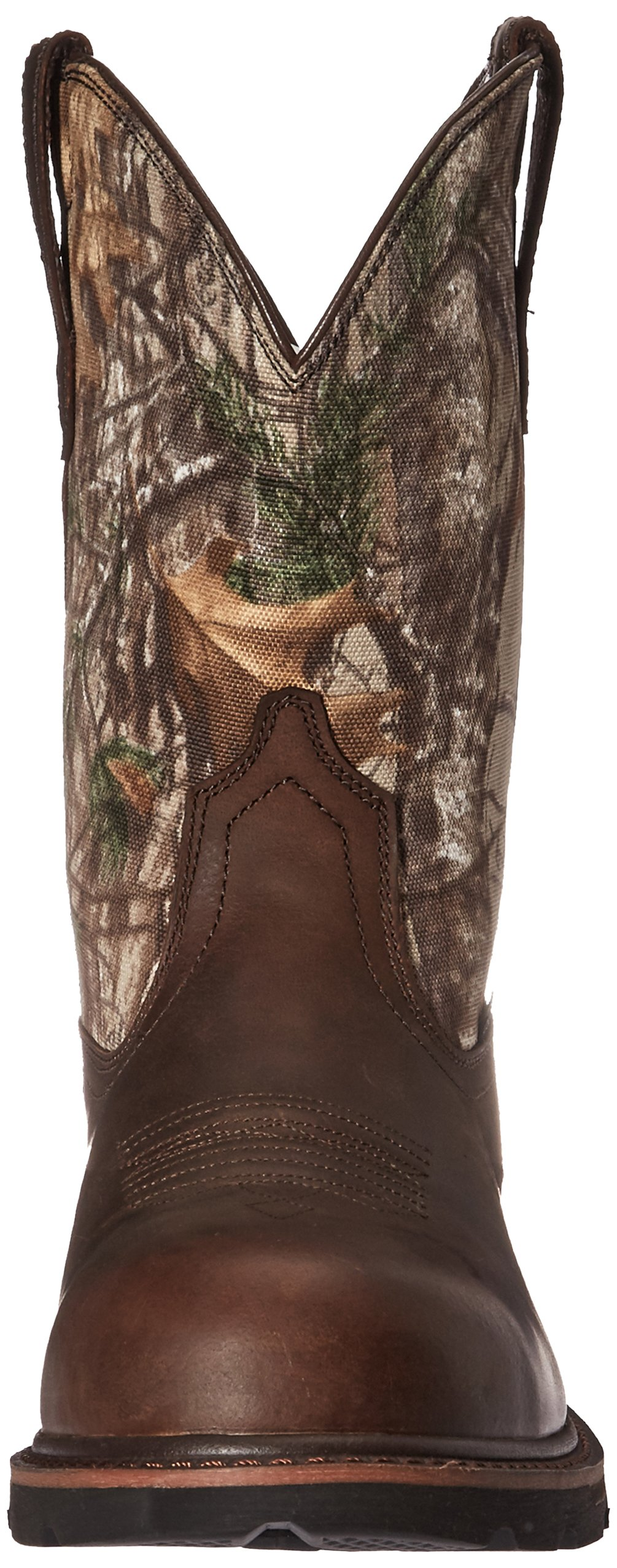 Ariat Work Men's Groundbreaker Pull-On Steel Toe Work Boot, Brown/Real Tree Extra, 7 D US by Ariat (Image #4)