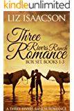 Three Rivers Ranch Romance Box Set, Books 1 - 3: Inspirational Western Romances - Second Chance Ranch, Third Time's the Charm, Fourth and Long (English Edition)