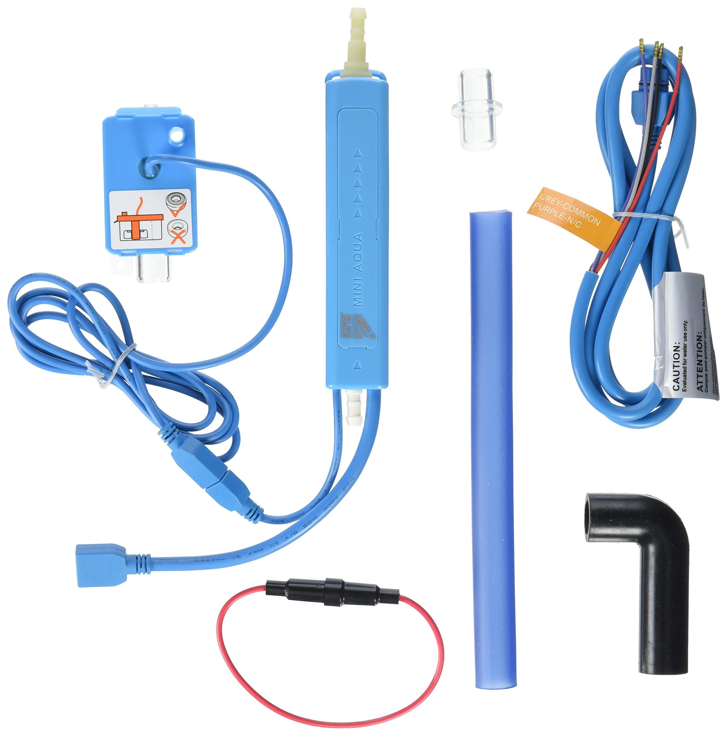 Rectorseal 83809 Aspen Mini Univolt Aqua Pump, 100-250V, Blue by Rectorseal