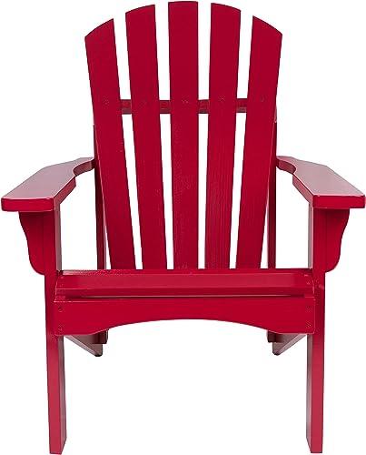 Shine Company Rockport Adirondack Chair, Chili Pepper