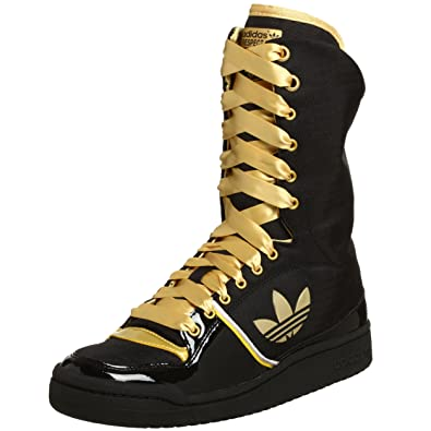 583c4ab2d36ca Adidas Women's Missy E. Spectate Sneaker, Black/Gold/Lgtgranit, 11 M ...