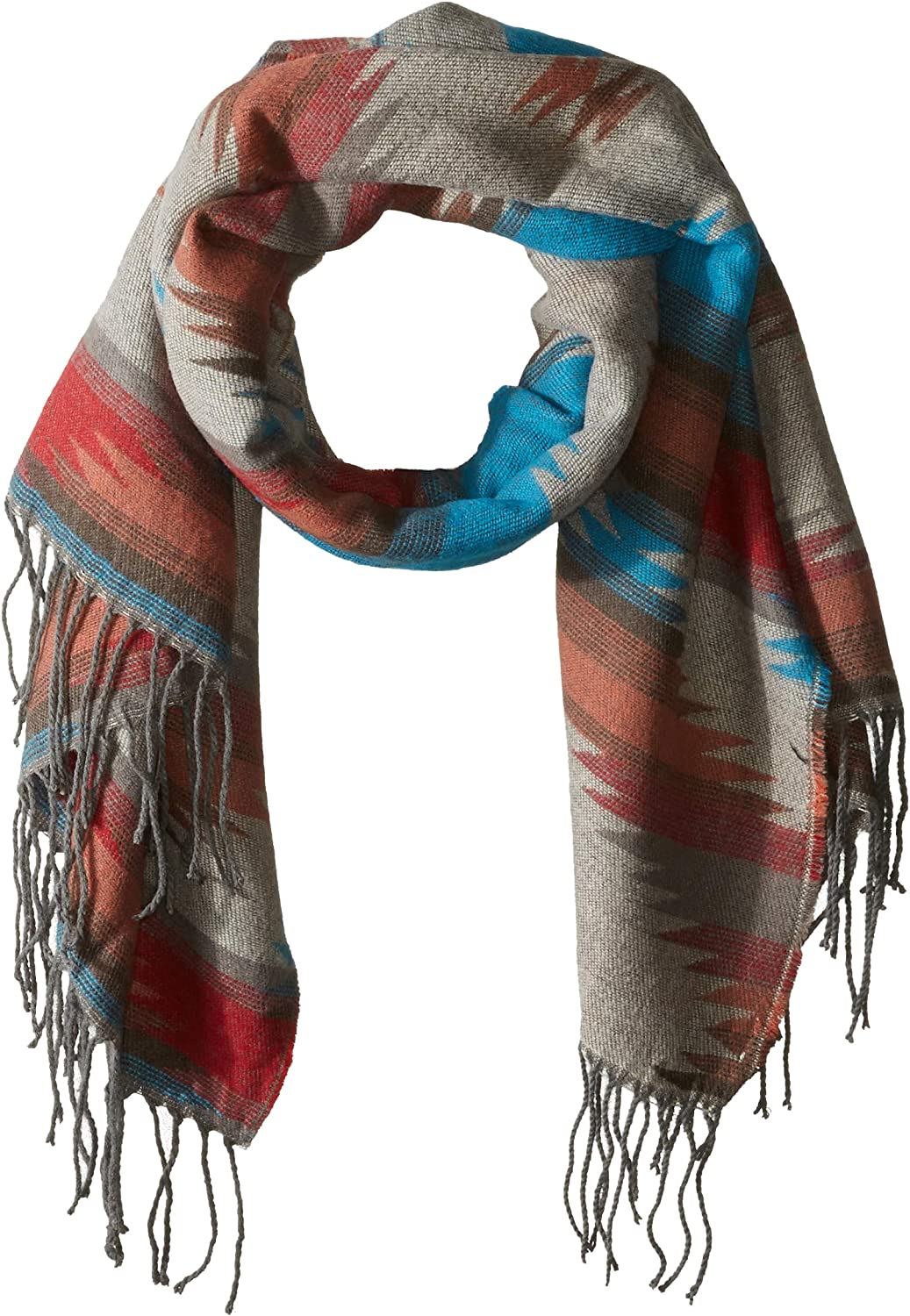 turquoise One Size Pistil Womens Mattea Scarf