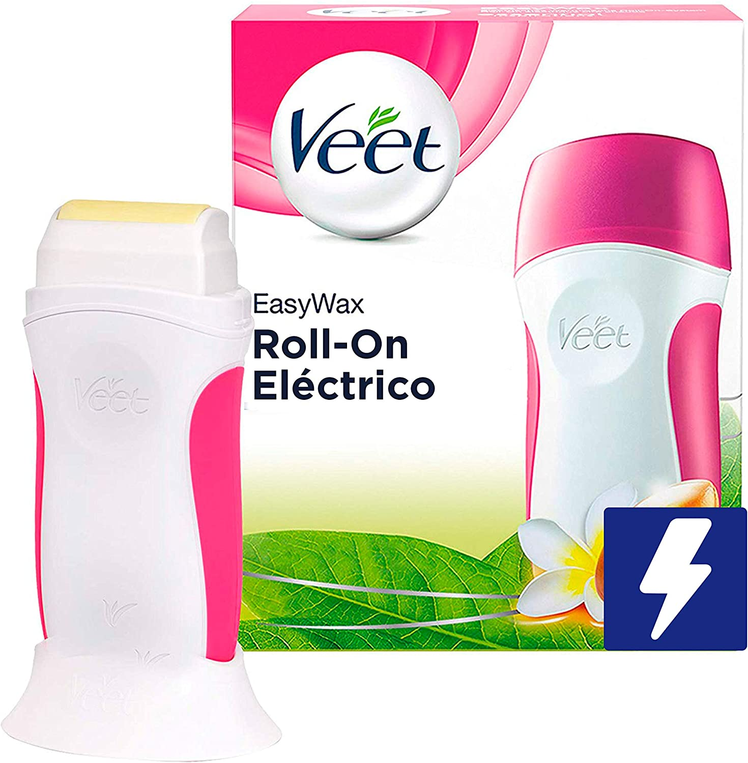 Veet Easy Wax Kit de Roll On Eléctrico para Cera Depilatoria ...