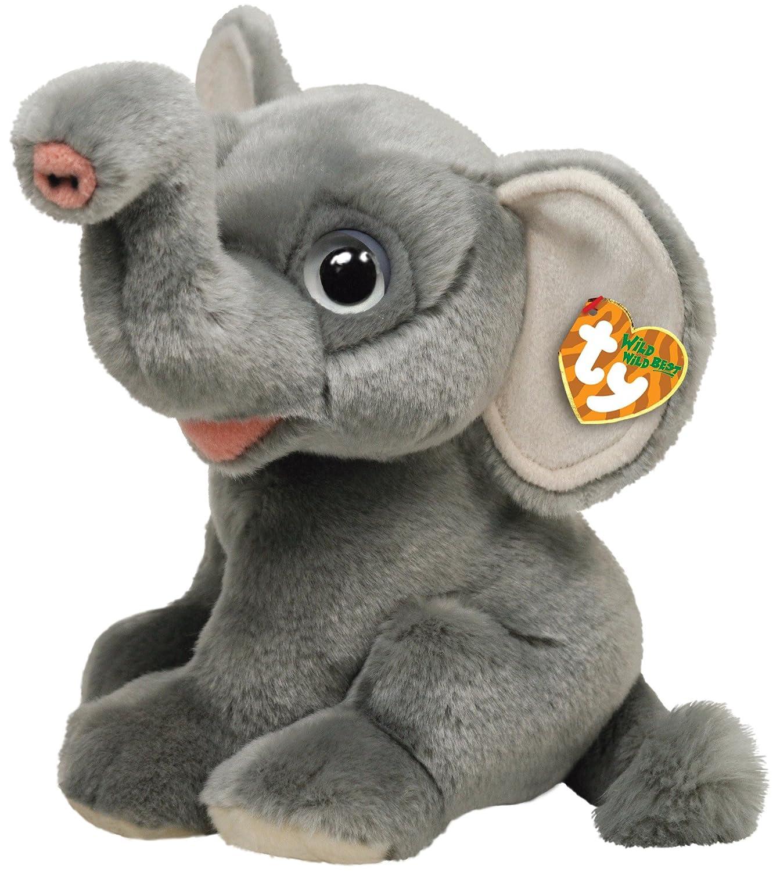 Ty 7175011 Wild Wild Best - Elefante de peluche África, 33 cm [Importado de Alemania]: Amazon.es: Juguetes y juegos