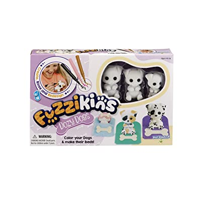 PlayMonster Fuzzikins Dozy Dogs Craft & Playset: Toys & Games