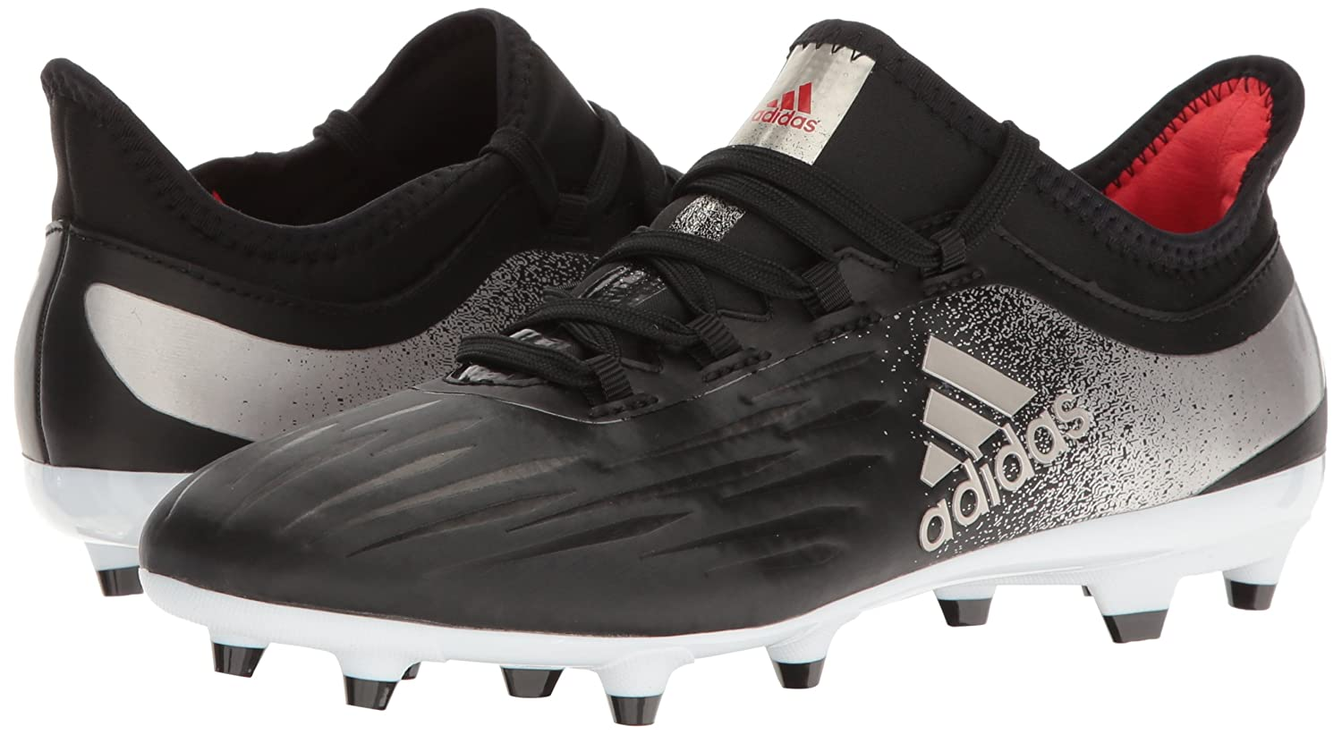 adidas Women's X 17.2 Fg W Soccer Shoe B01H2CG9XK 9 B(M) US|Black/Platino Core Red S