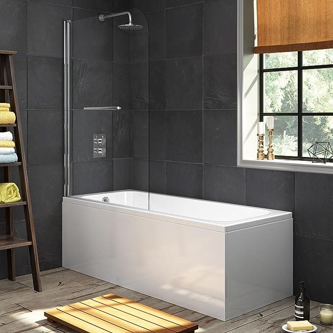 1700 mm diseño de bañera + bañera de apoyo recta de 1000 mm con ...